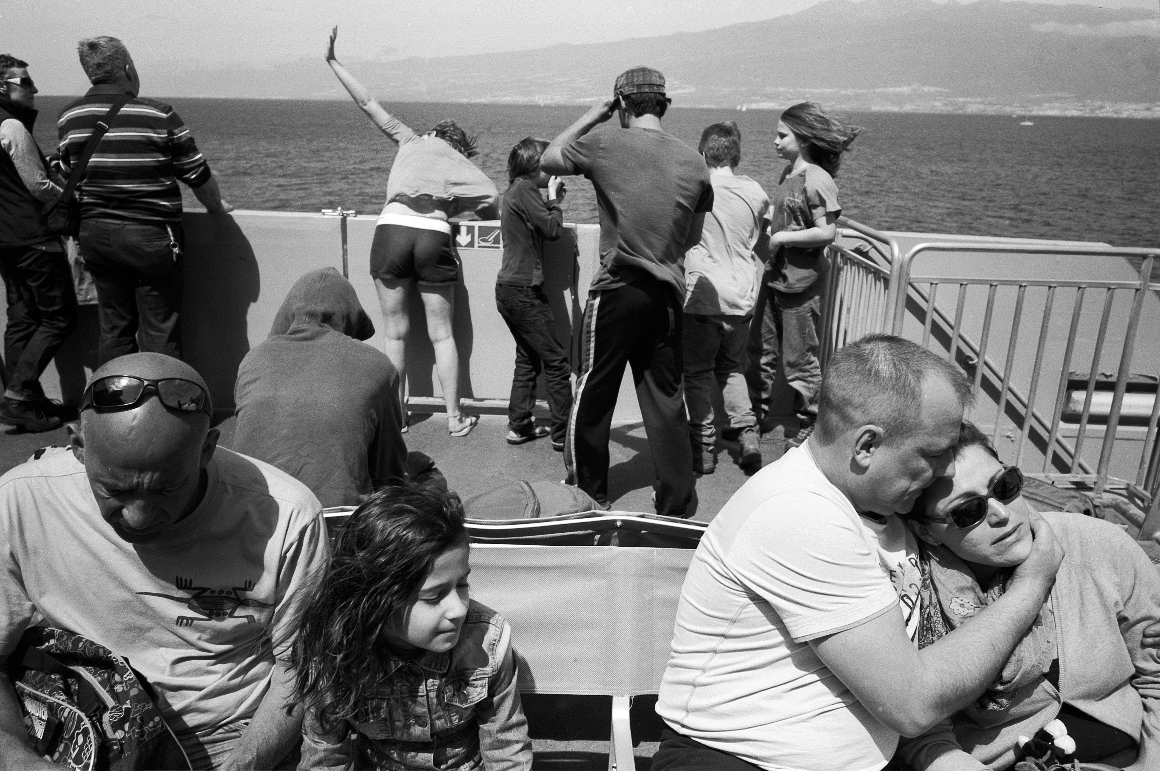 Boat to Gomera
