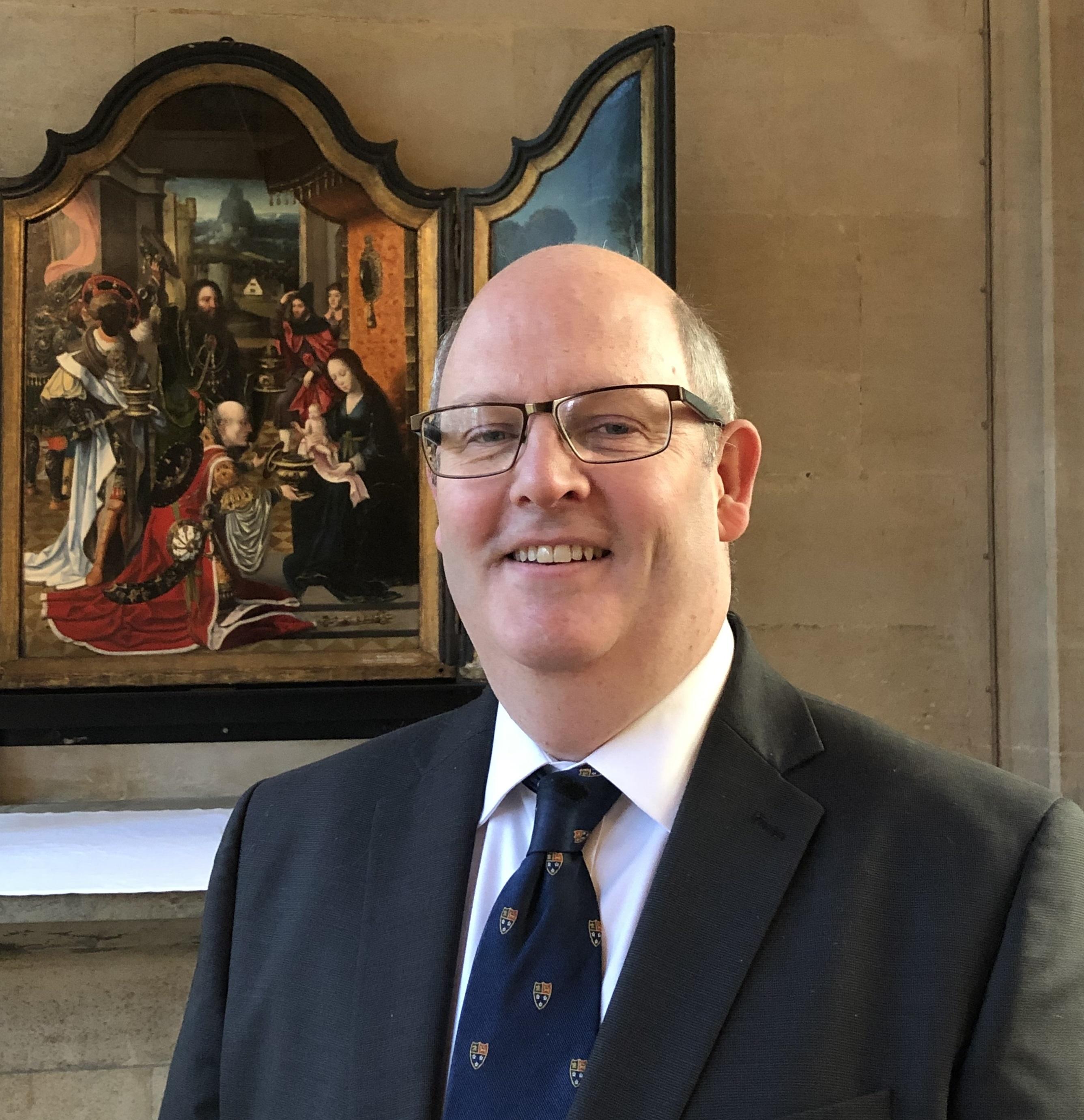 Ian Griffiths, Dean's Verger