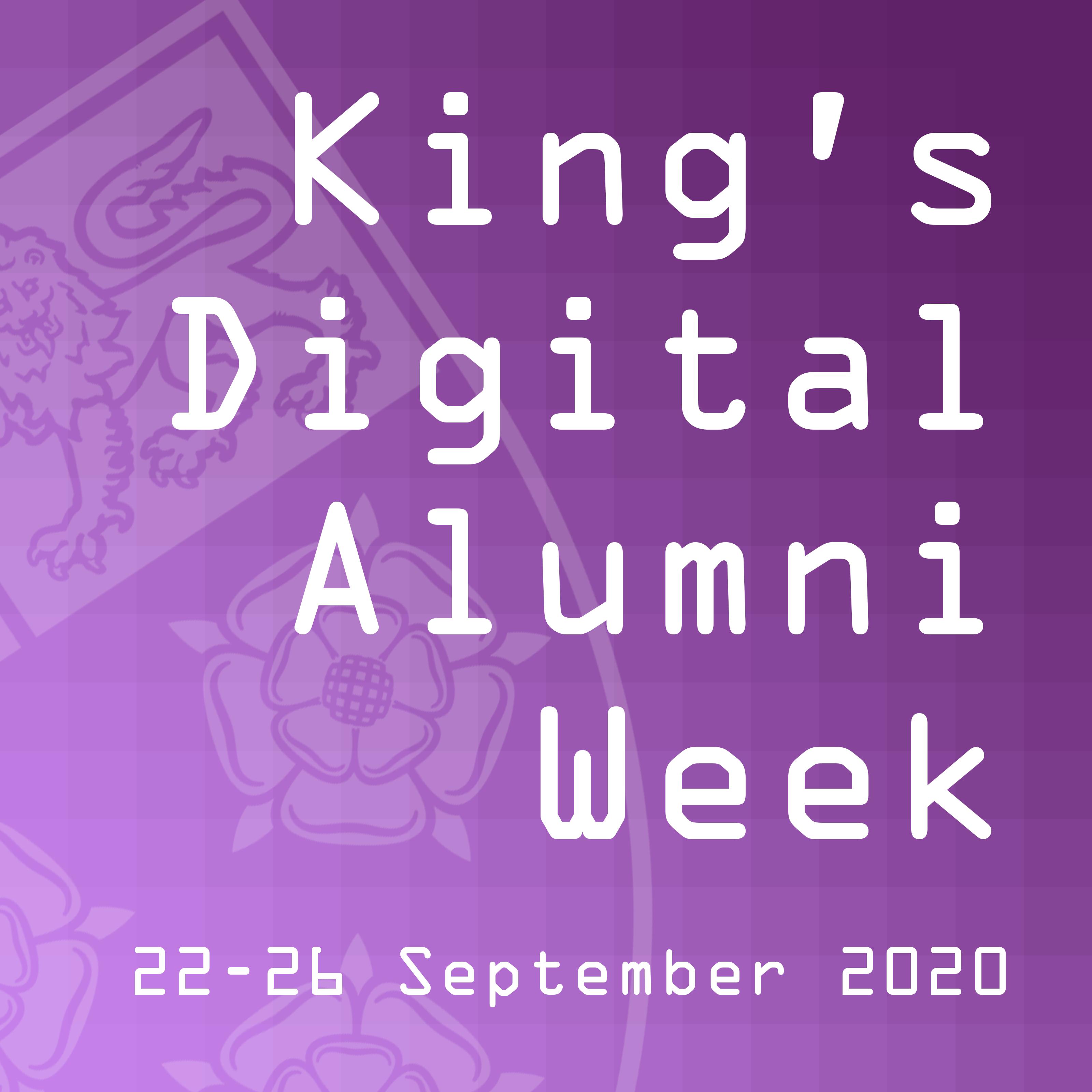 Digital Alumni Week