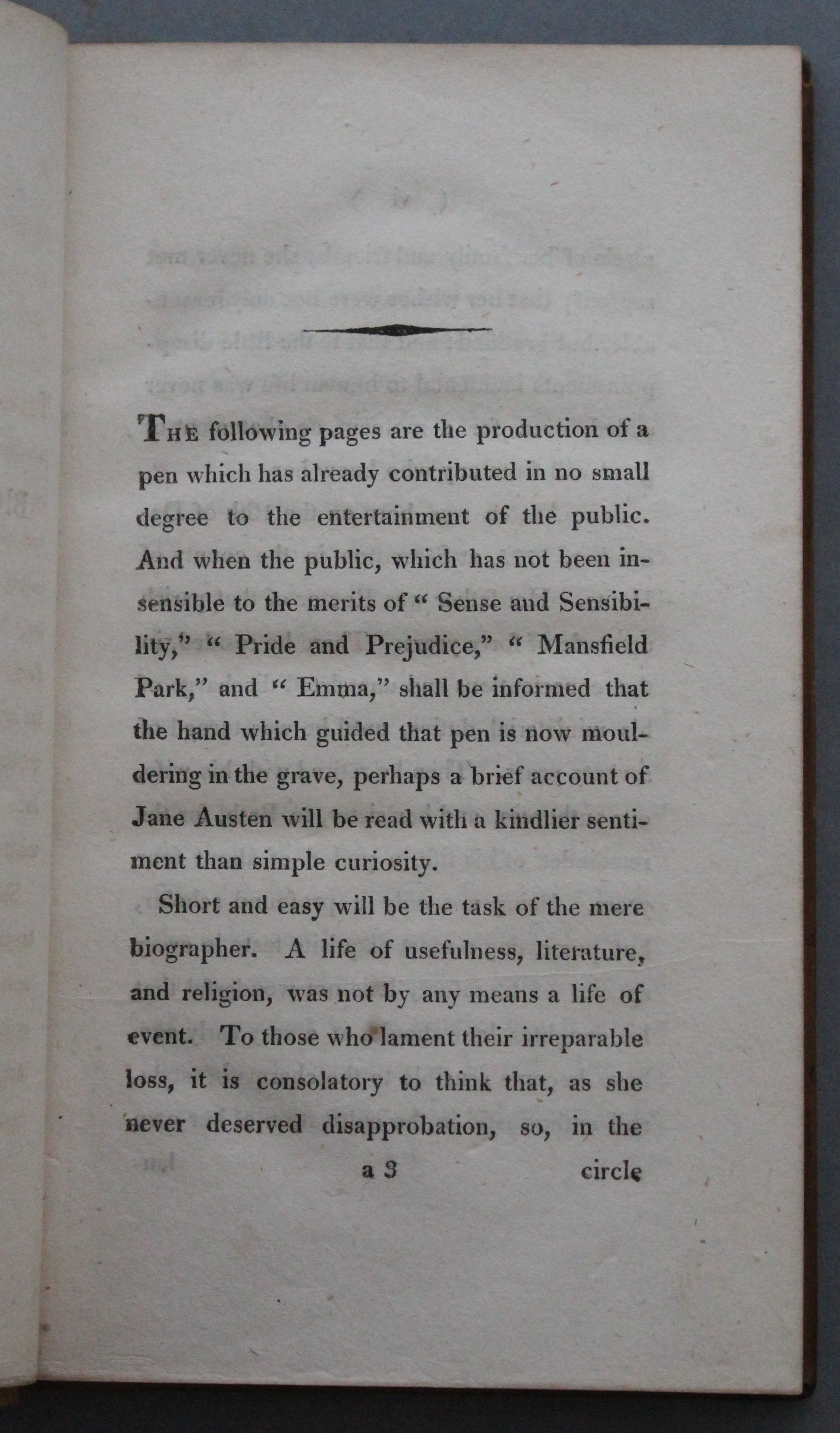 Thackeray.J.57.13 biographical note opening
