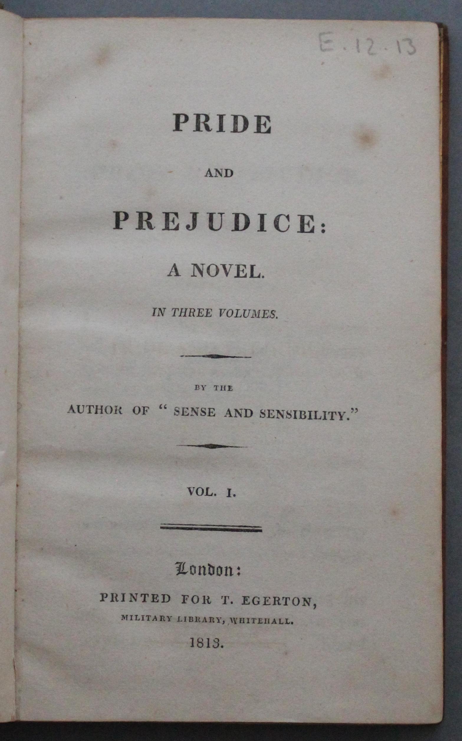 Warren.A.Pr.1813 title page