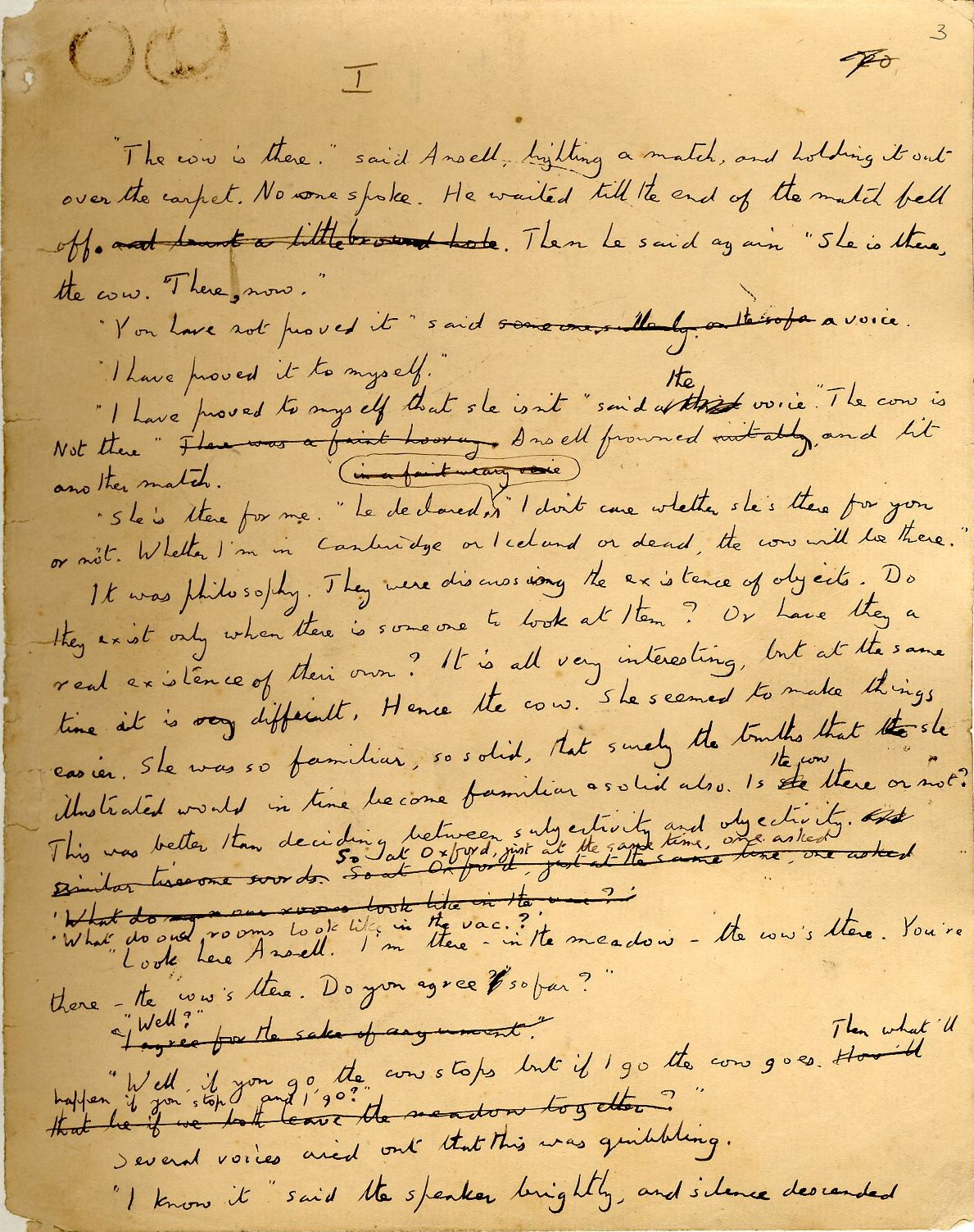 Manuscript draft of The Longest Journey. [EMF vol. 8/6]