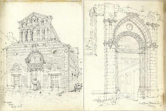 San Giusto, Lucca and the Church of San Domenico (April and May 1876)