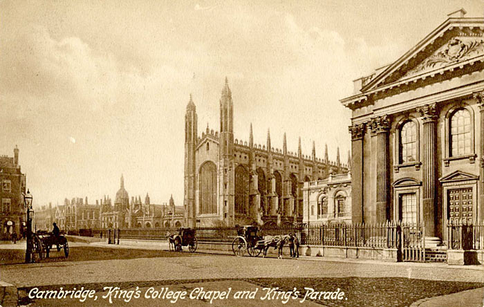King's College Chapel and King's Parade