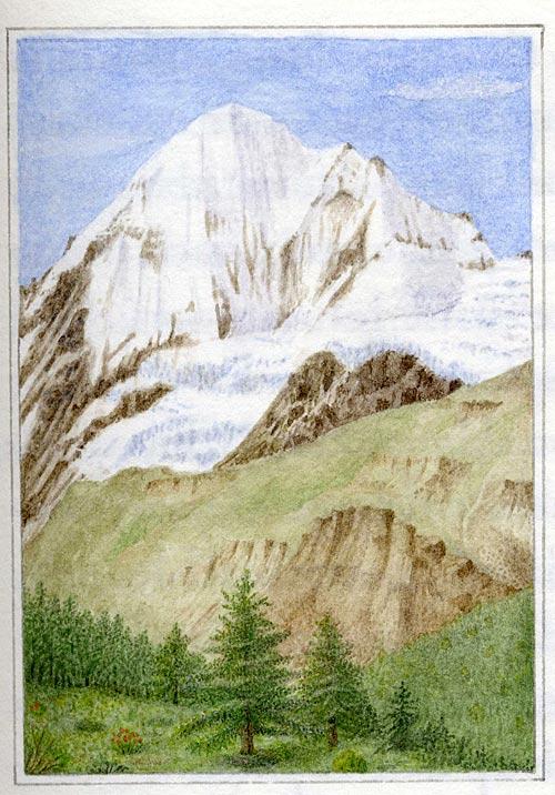 The Konigspitze, in the Tyrol (Switzerland)