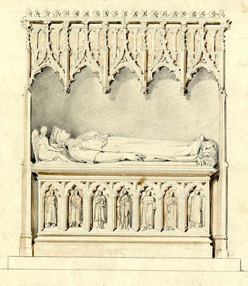 John Henning's design for the monument of Henry VI
