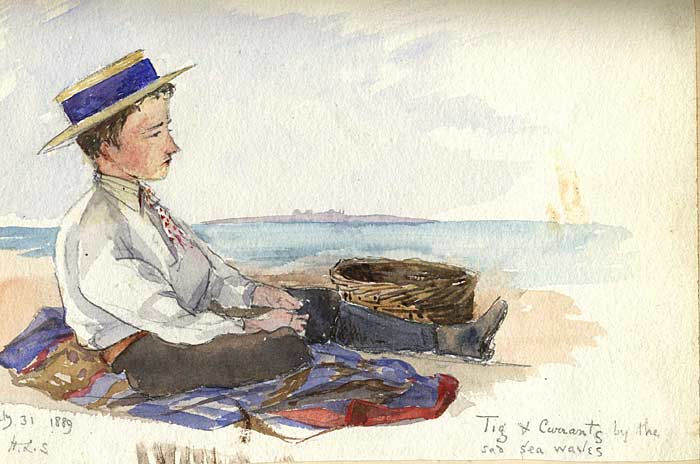 'Tig & Courrants by the sad sea waves'