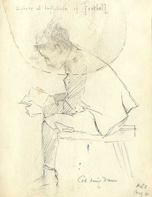 Sketch of JW Cole