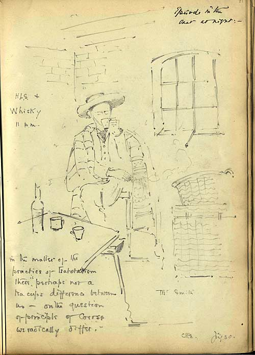 Sketch of HLS by CR Ashbee