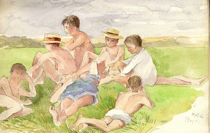 Sunbathing in Kent