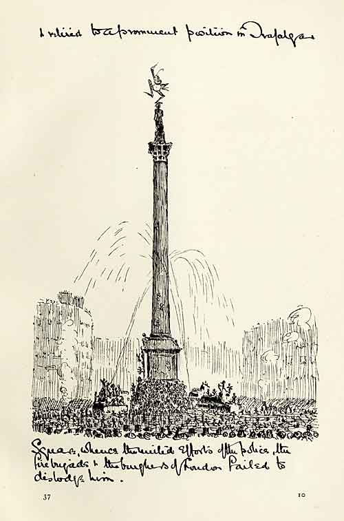 Dancing on Nelson's Column