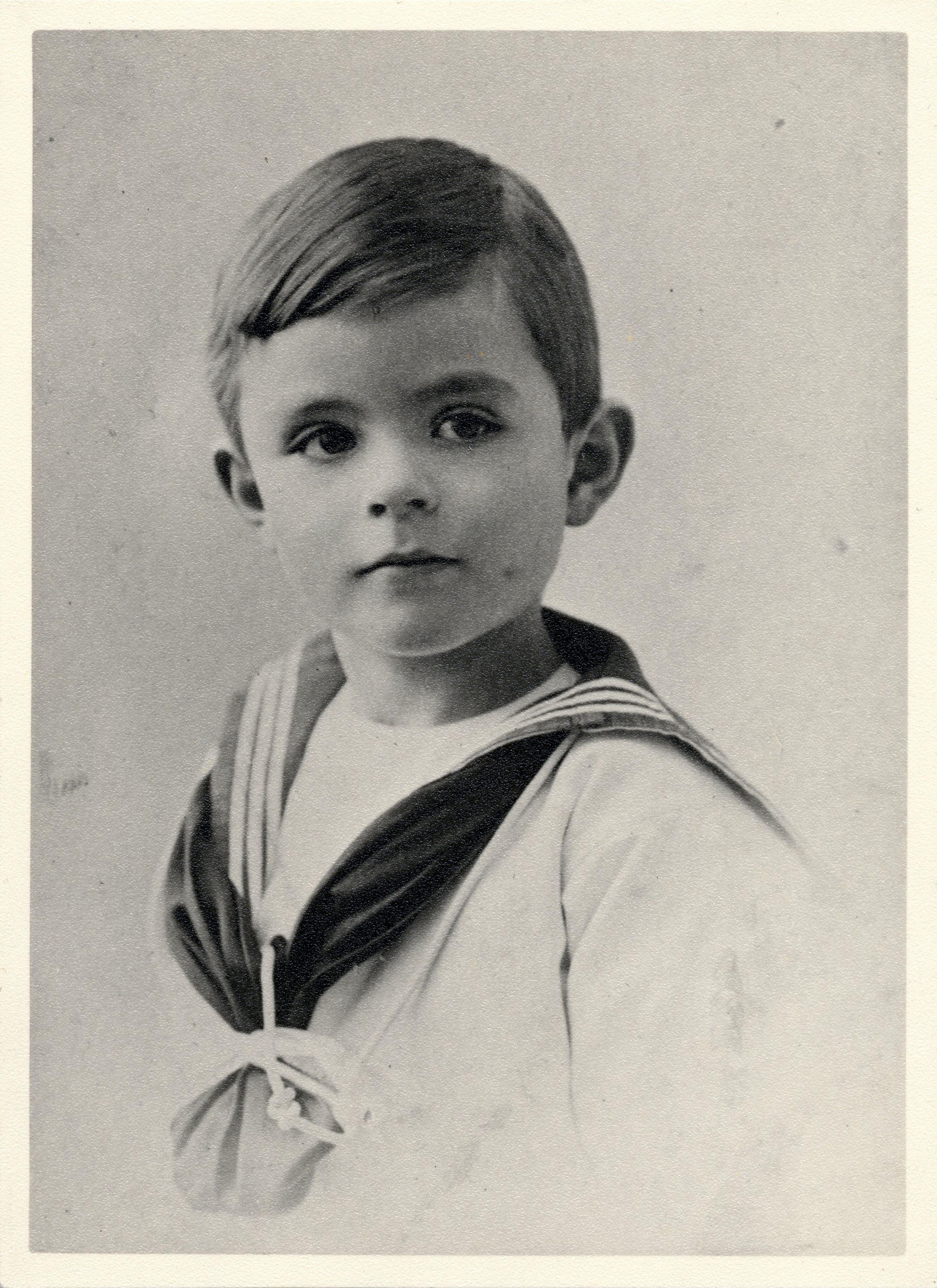 Alan Turing, aged 5. [AMT/K/7/2]