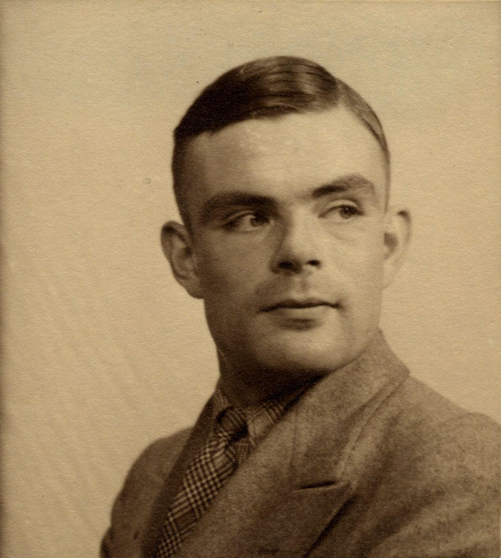 Turing c. 1940.  [AMT K/7/14]