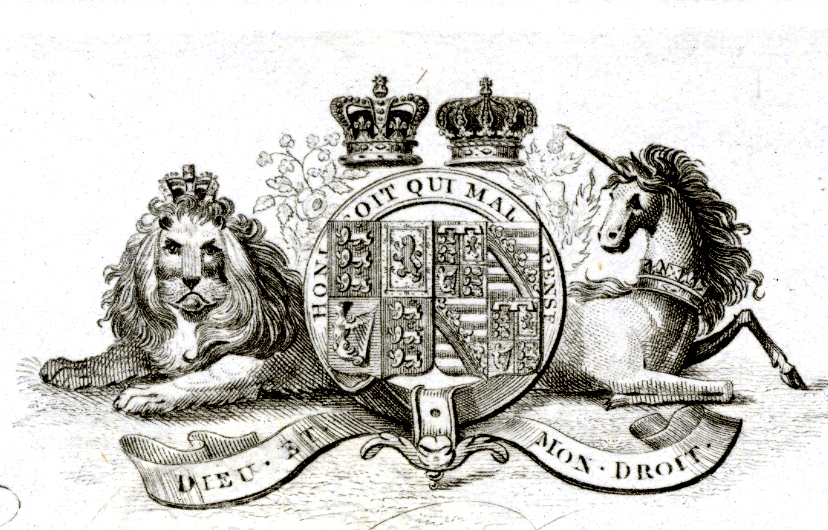 Crest of R. & S. Garrard & Co., Haymarket, London (detail of previous receipt).
