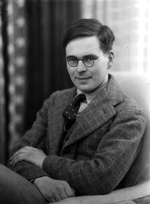 John Saltmarsh, taken by Ramsey and Muspratt in 1935 (Coll Photo 383)