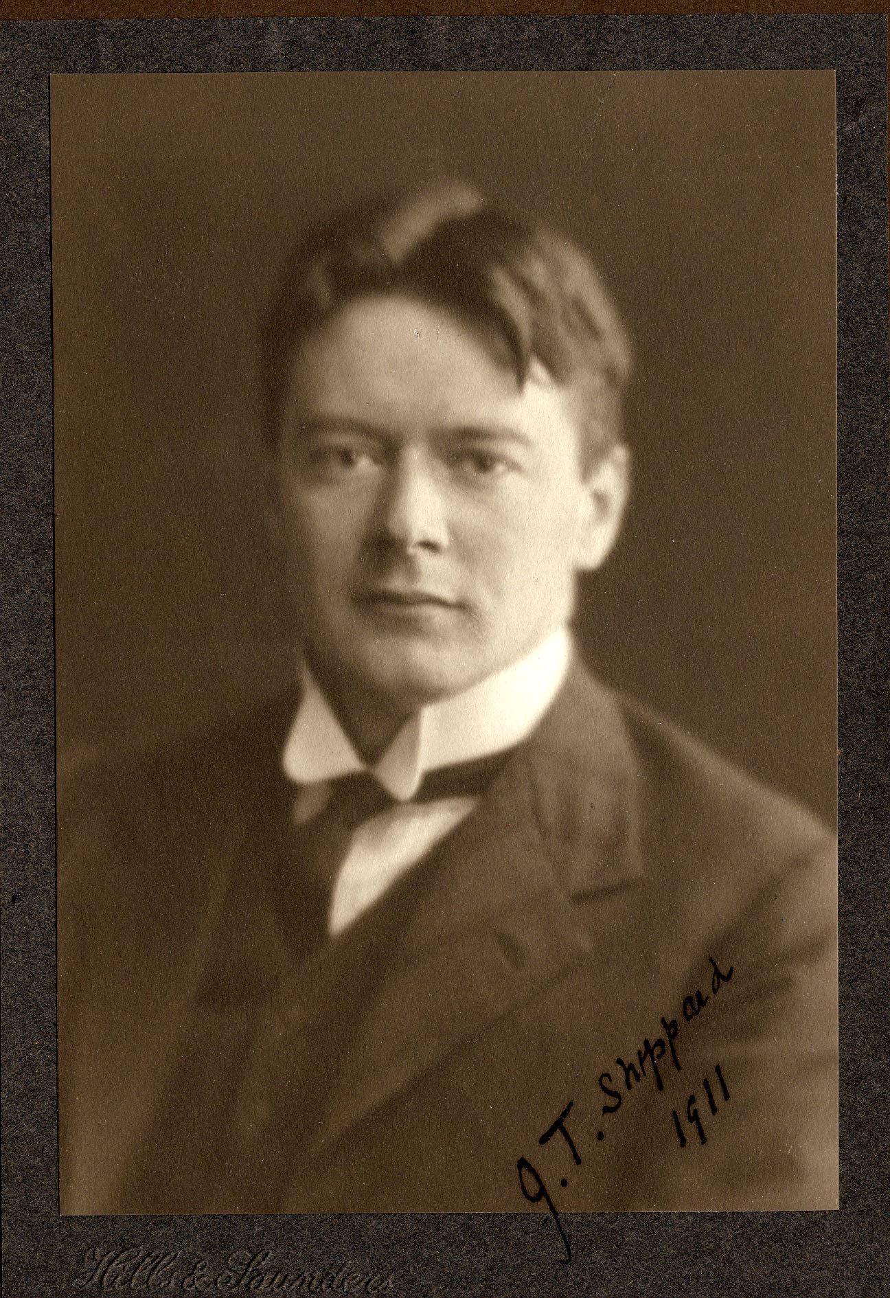 John Tresidder Sheppard, 1911 (Coll/Ph/0388/Sheppard)