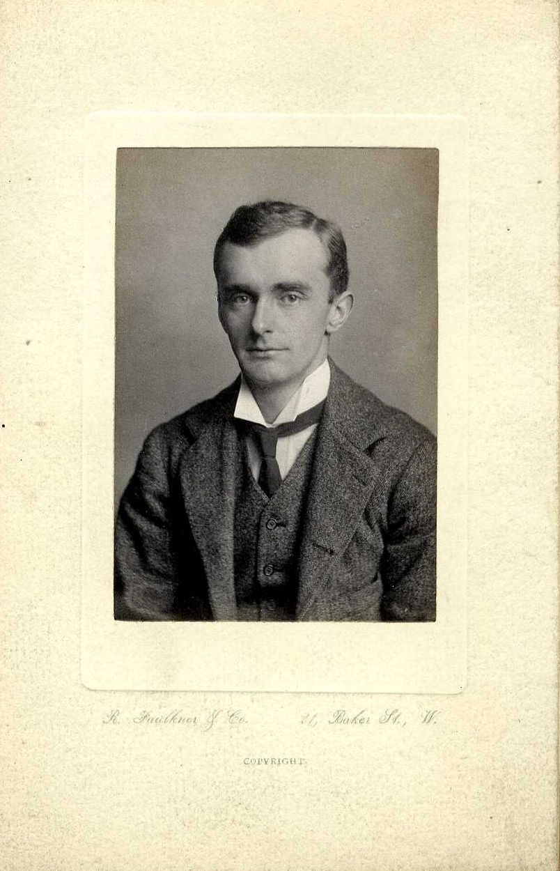 Alexander Frederick Richmond Wollaston, taken by R. Faulkner & Co. [Coll Ph 477]