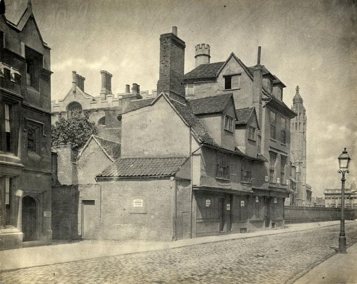 Cory's House, King's Parade (1840-1870; Coll-Ph-1126)