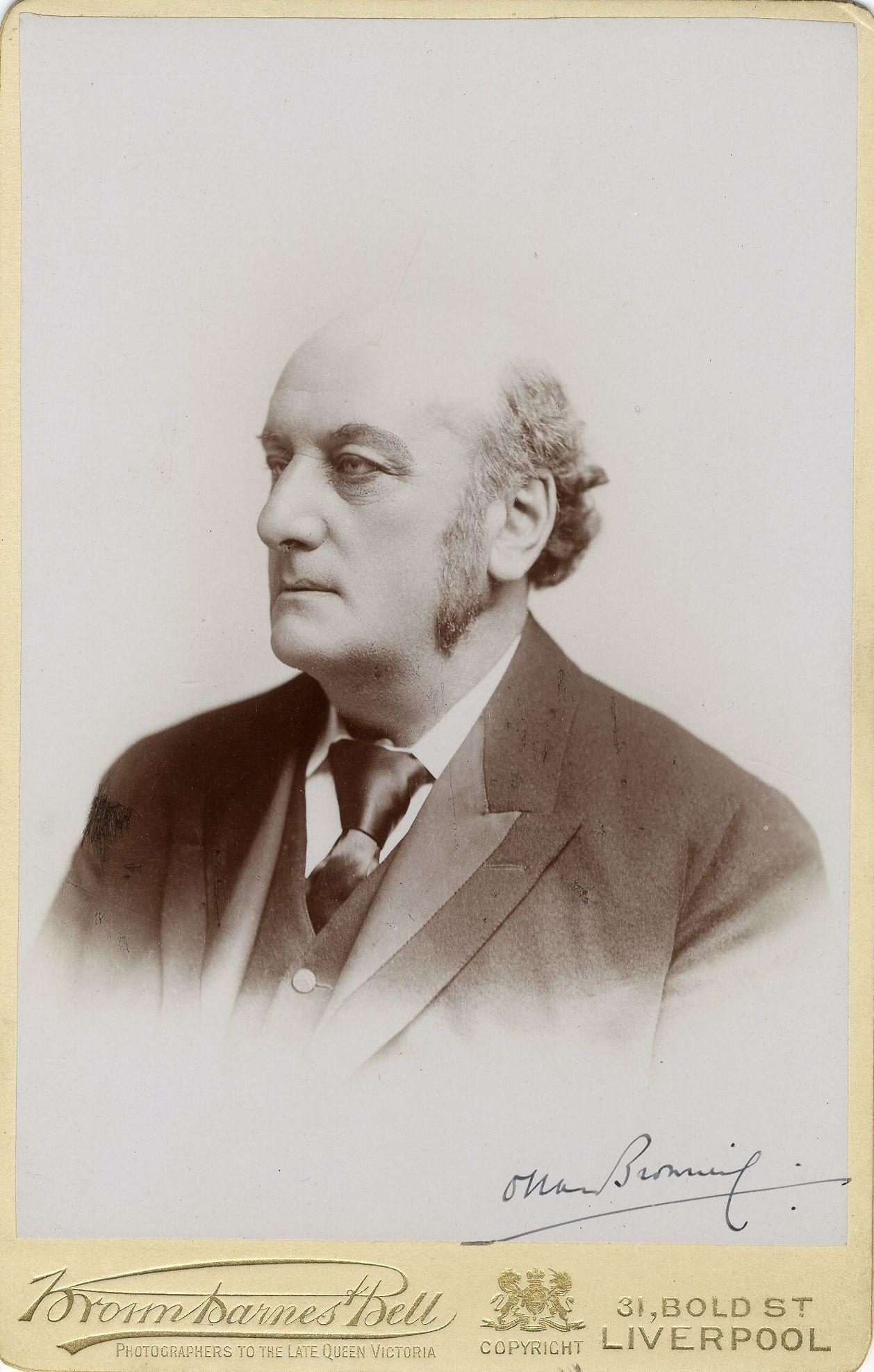 Oscar Browning. [Coll. Ph. 1284]