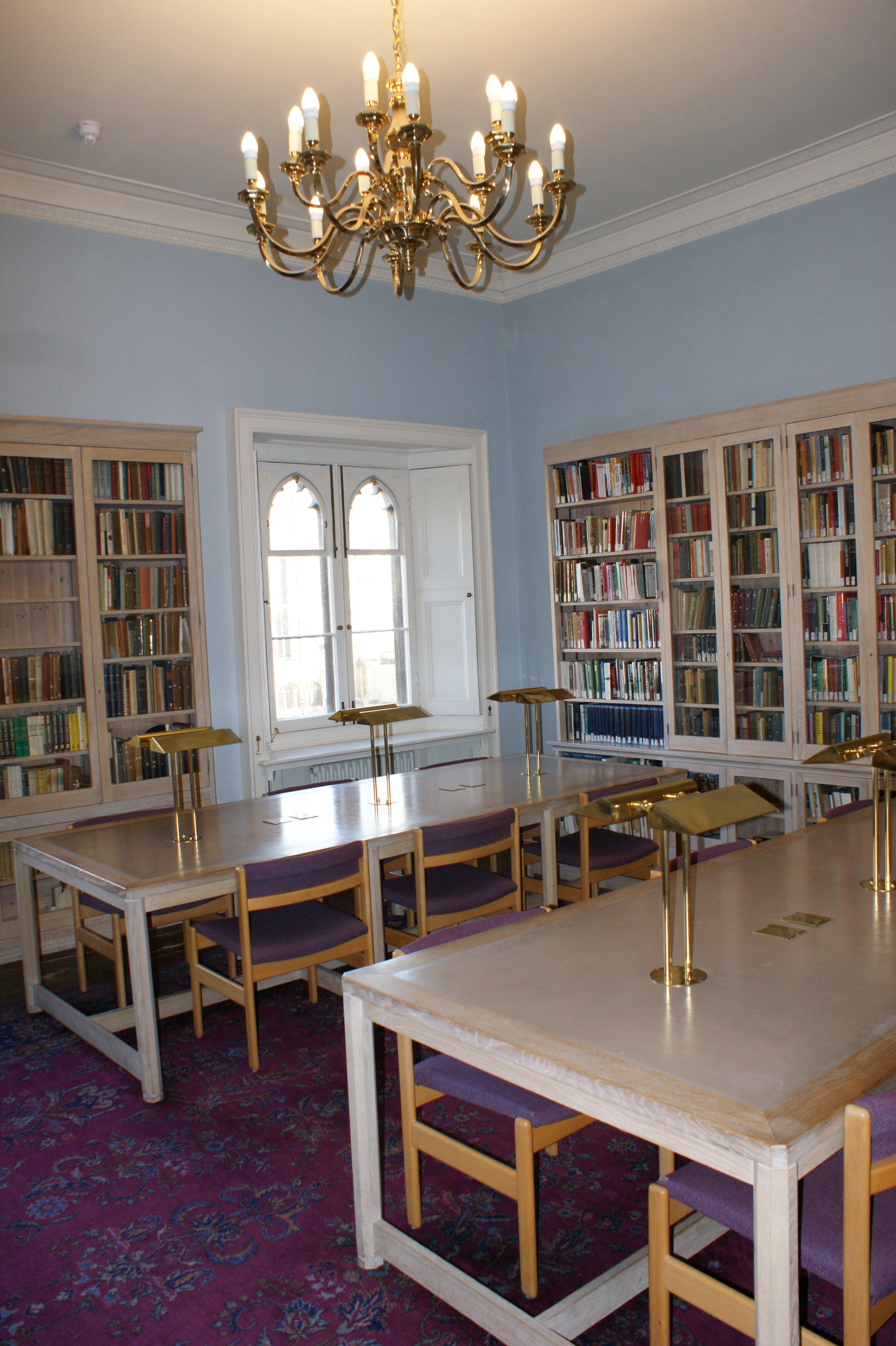 The King's College Archive Centre's reading room.