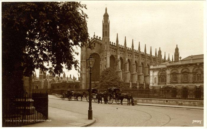 Screen, Chapel and Senate House – outside College (Judges Ltd., Hastings, EMF/27/237).