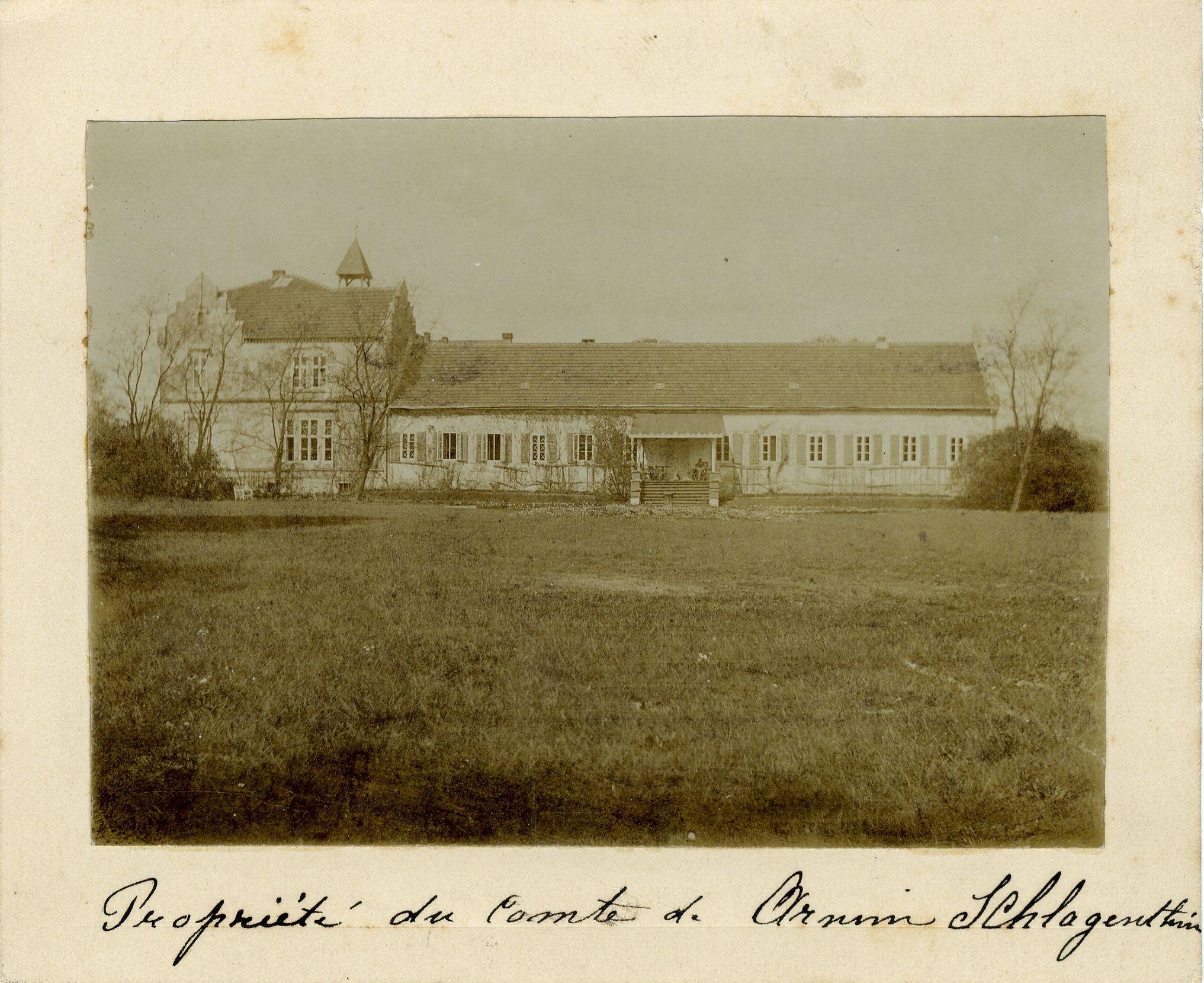 The von Arnim house, Nassenheide, Germany. [EMF/27/304]