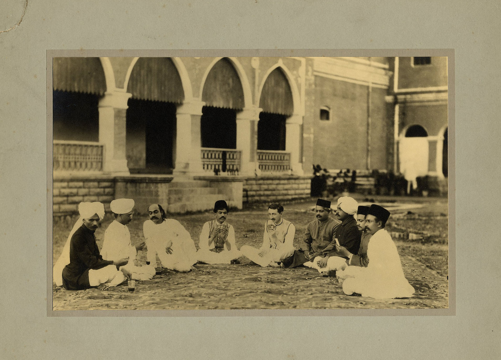 Forster in the court of his Highness the Maharajah of Dewas State Senior. [EMF/27/333]
