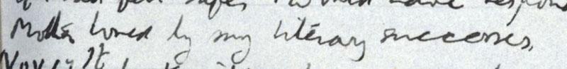 E.M. Forster's locked diary entry, 13 November 1910 (EMF/vo. 4/4, f.13).
