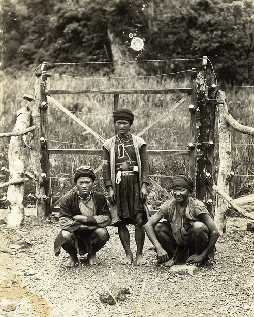Tribespeople of the Kachin Hills, Burma (Leach, 1940-1949; ERL/4/34)