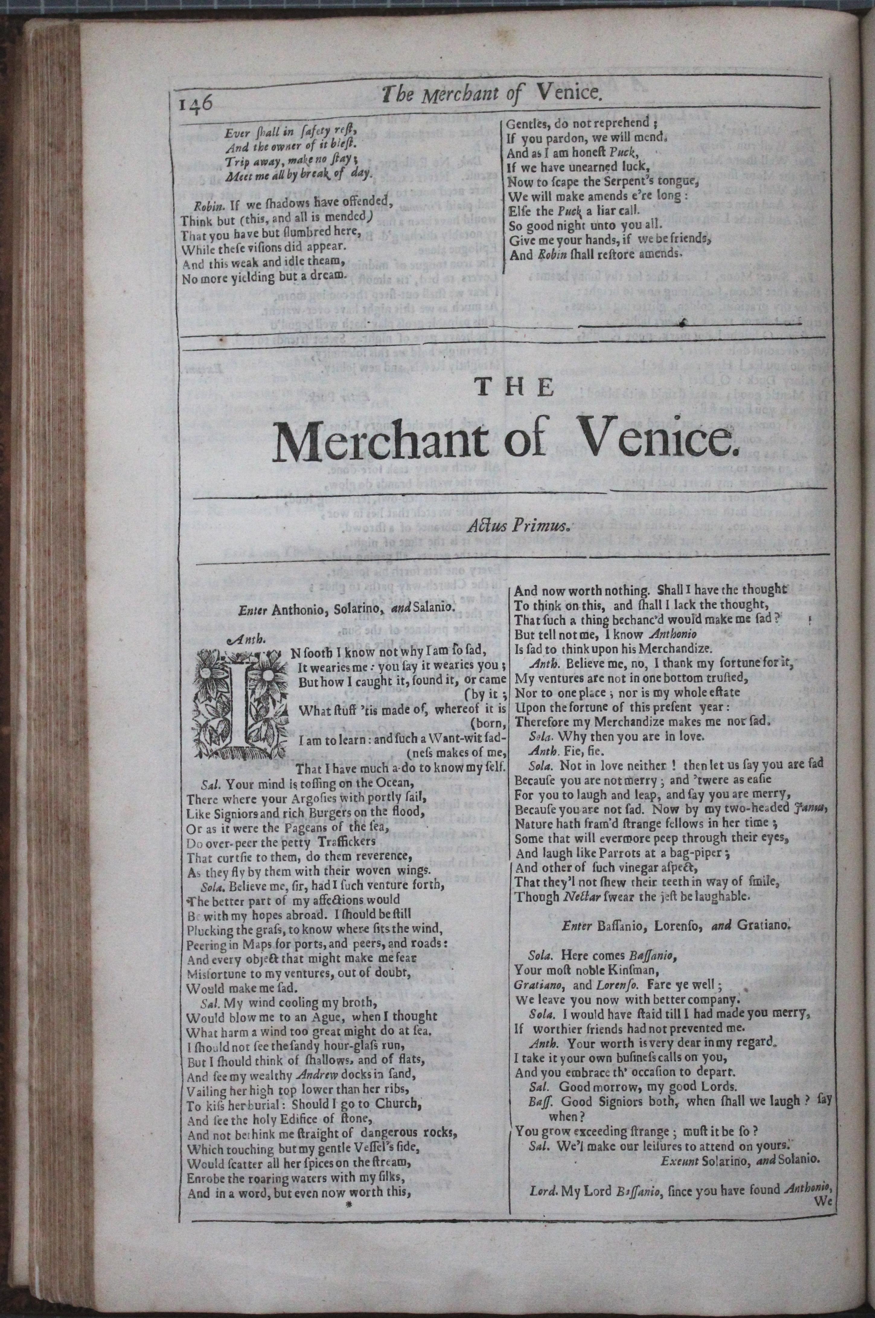 Thackeray.13_The Merchant of Venice