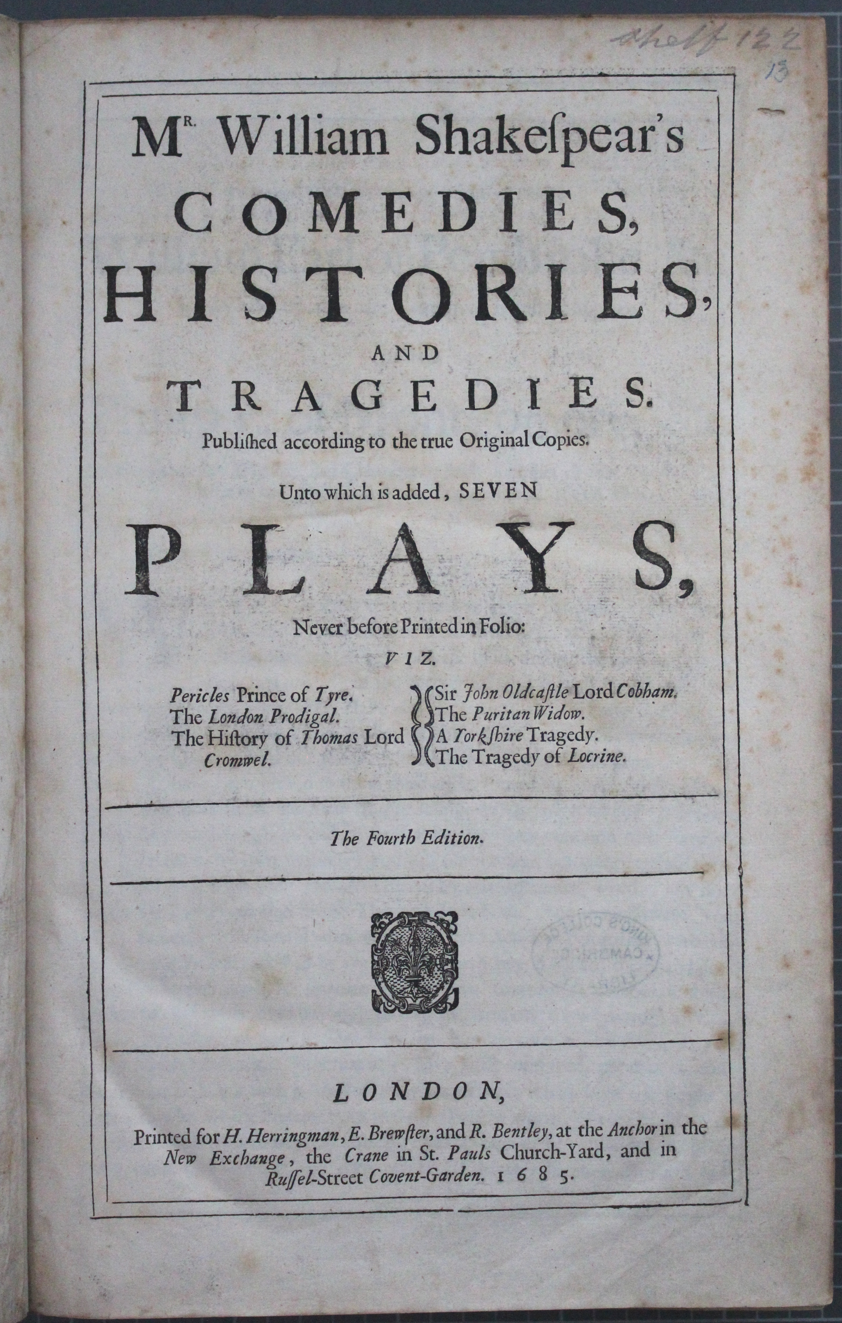 Thackeray.13_title page