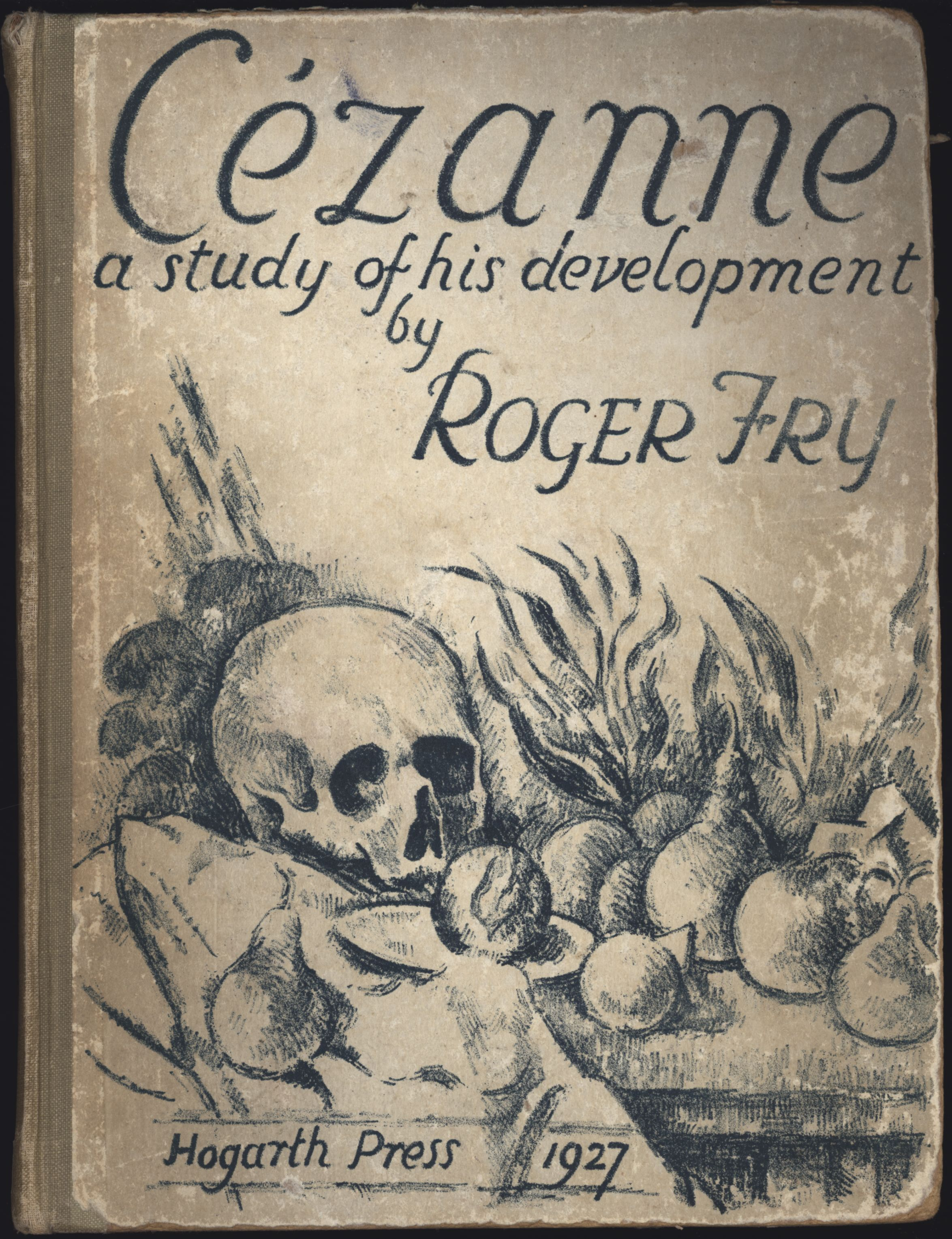 Cover of Roger Fry's 'Cézanne. A Study of His Development'.