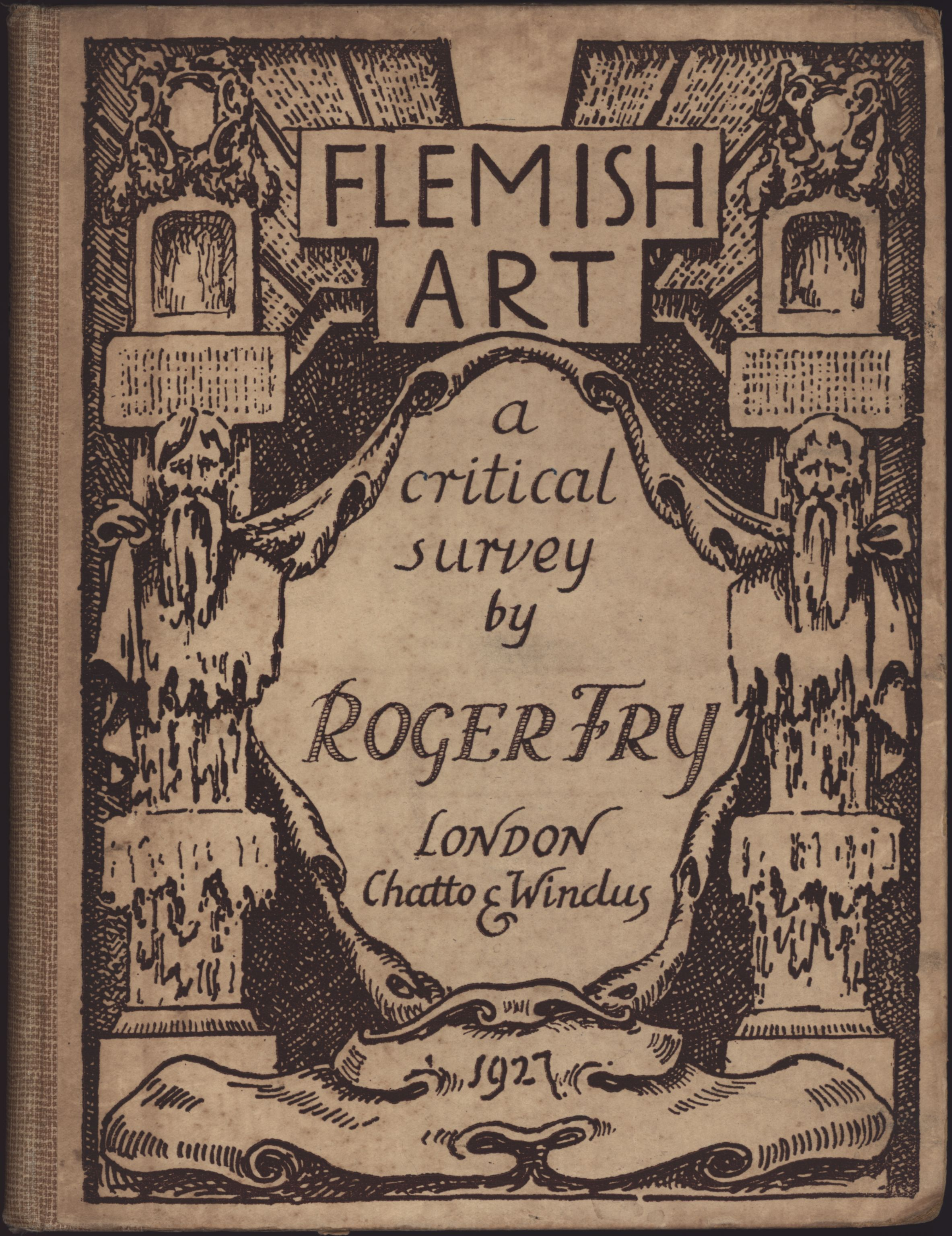 Cover of Roger Fry's 'Flemish Art'.