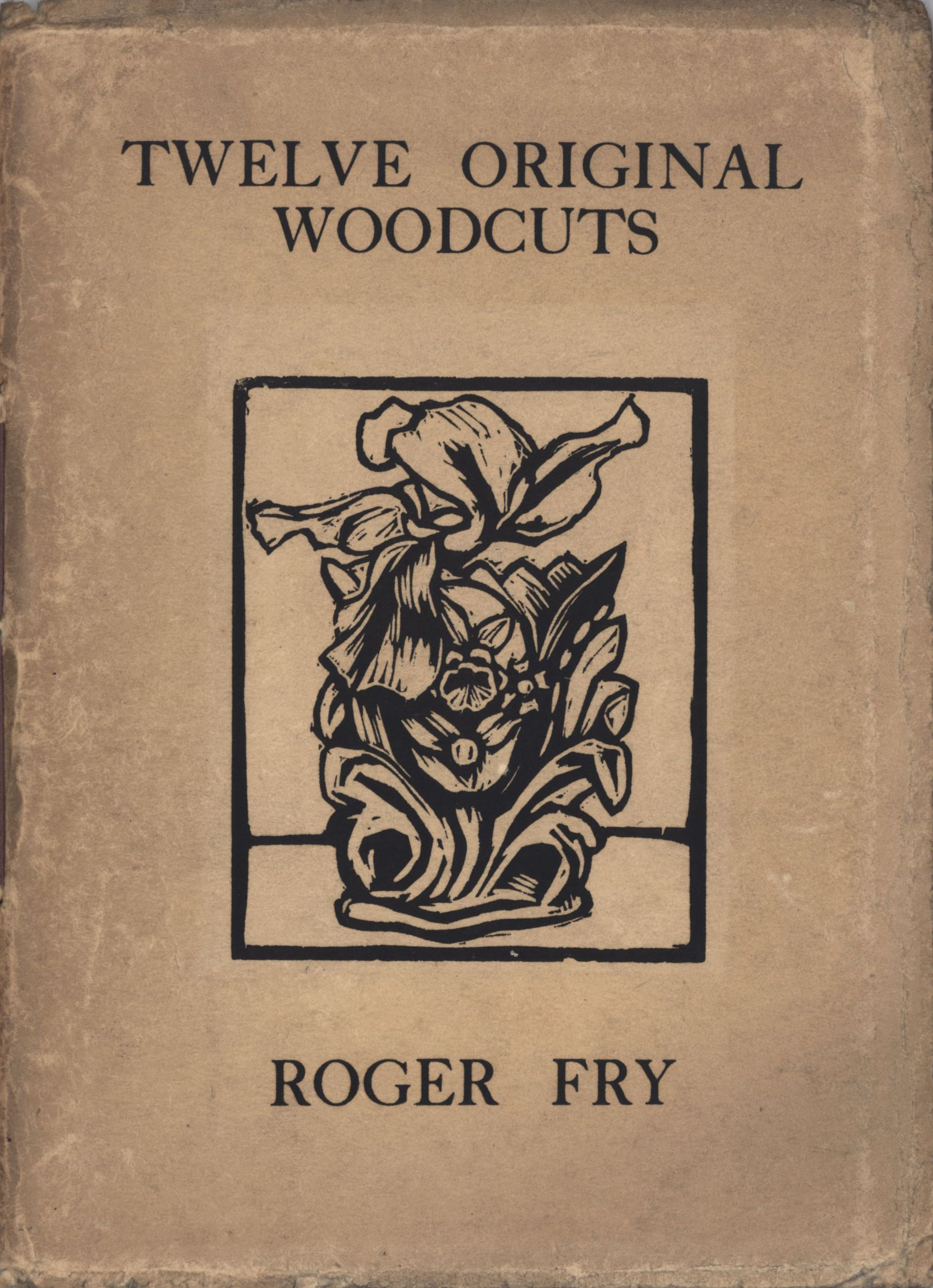 Cover of Roger Fry's 'Twelve Original Woodcuts'.