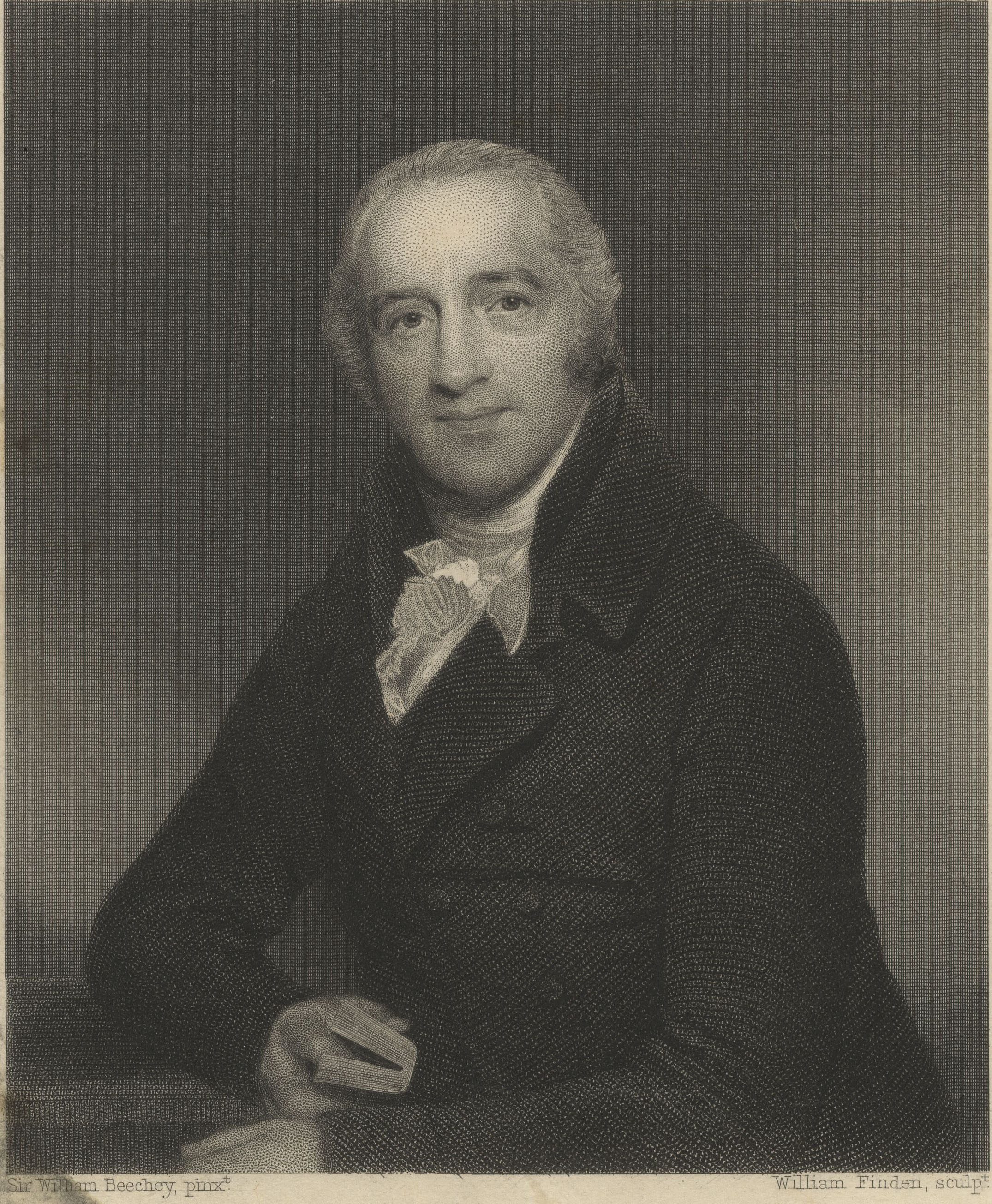 Engraving of Simeon by William Finden after a portrait by Sir William Beechey. (KCAC/1/4/Simeon3)