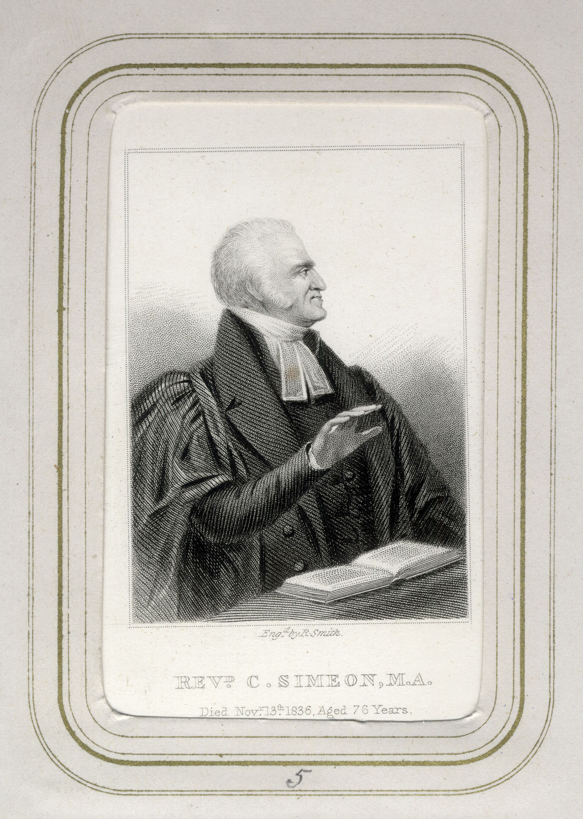 Engraving of Simeon by R Smith. (SC/Albums/1/Simeon)
