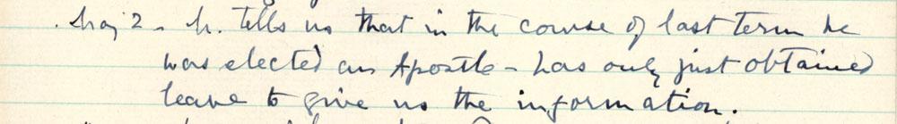 Florence Ada Keynes' reflections, 2 May 1903 (JMK/PP/90/91).