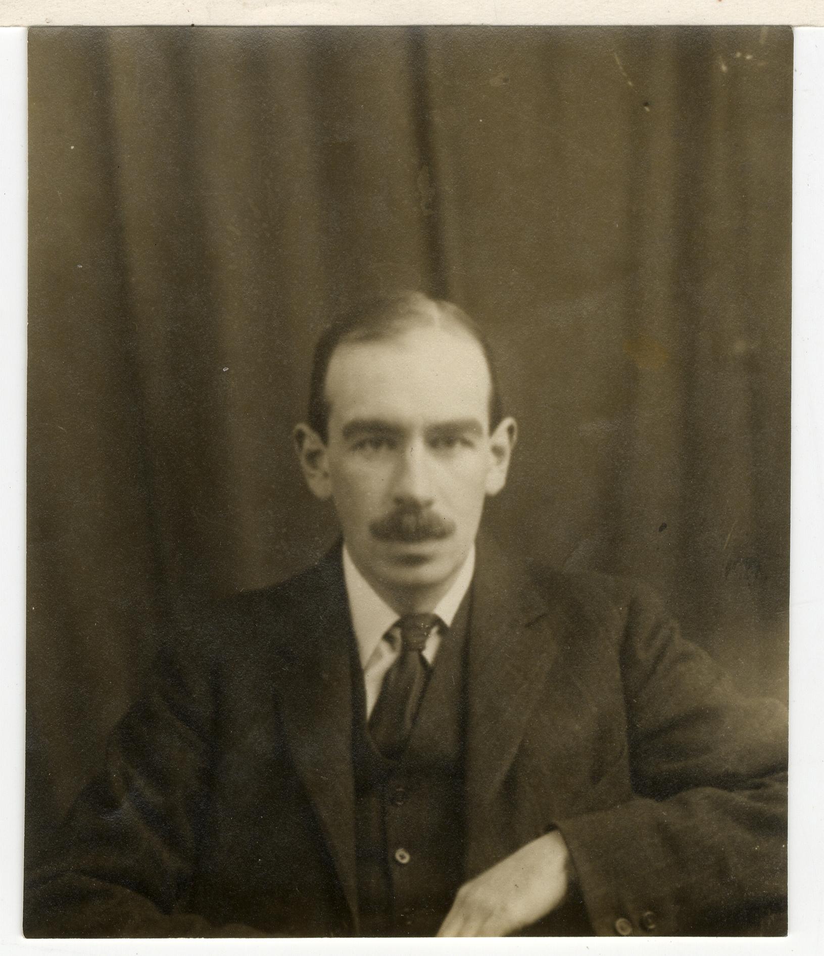 John Maynard Keynes. [JMK/PP/94/161]