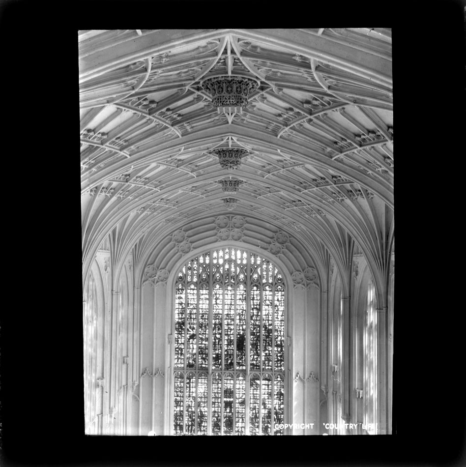 Tracery of the east window. [JS/4/11/46]