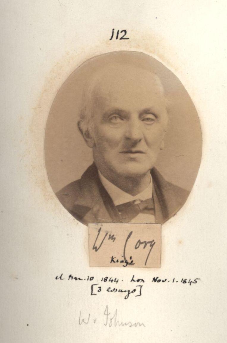 112: Johnson [Cory], William. [KCAS/39/4/1, Photobook, p.41]