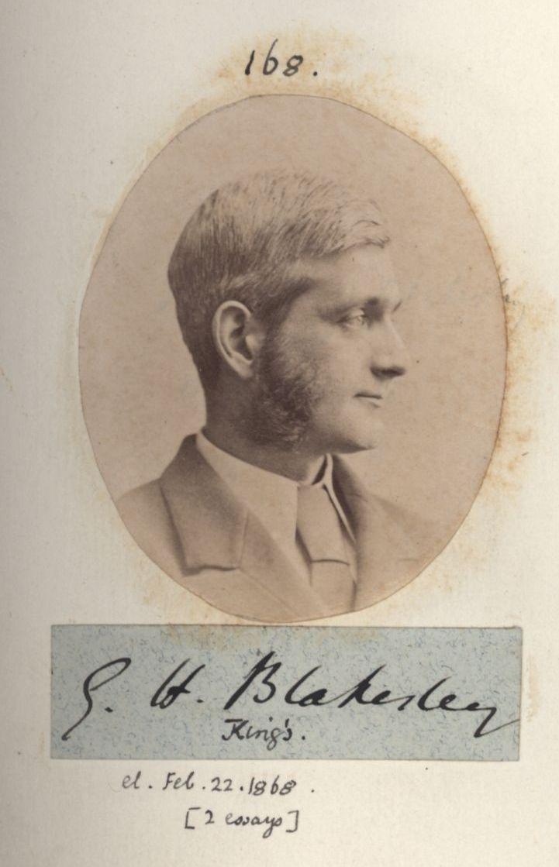 168: Blakesley, George Holmes. [KCAS/39/4/1, Photobook, p.55]