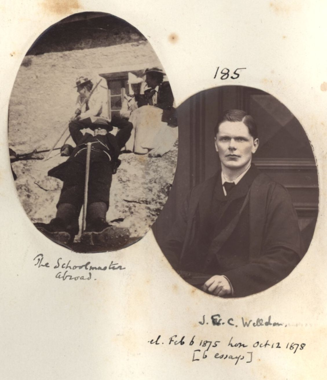 185: Welldon, James Edward Cowell. [KCAS/39/4/1, Photobook, p.59]