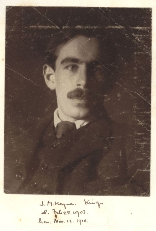 243: Keynes, John Maynard. [KCAS/39/4/1, Photobook, p.74]