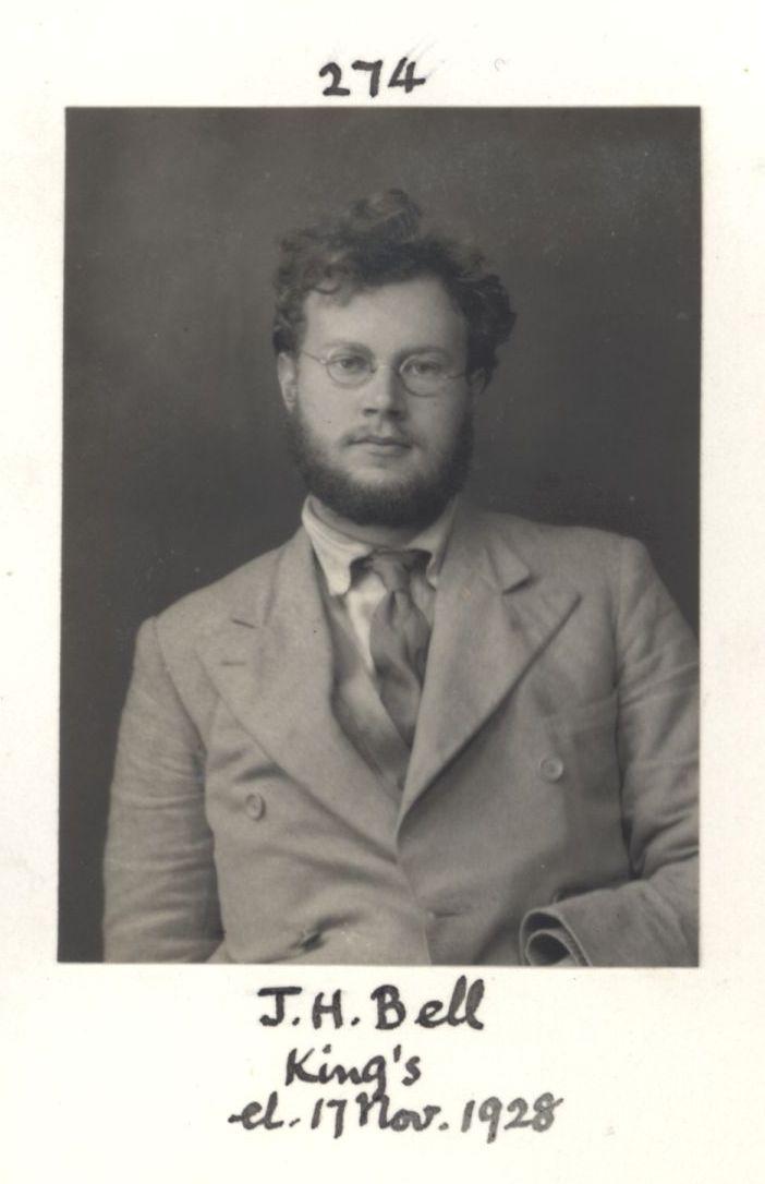 274: Bell, Julian Heward. [KCAS/39/4/1, Photobook, p.82]