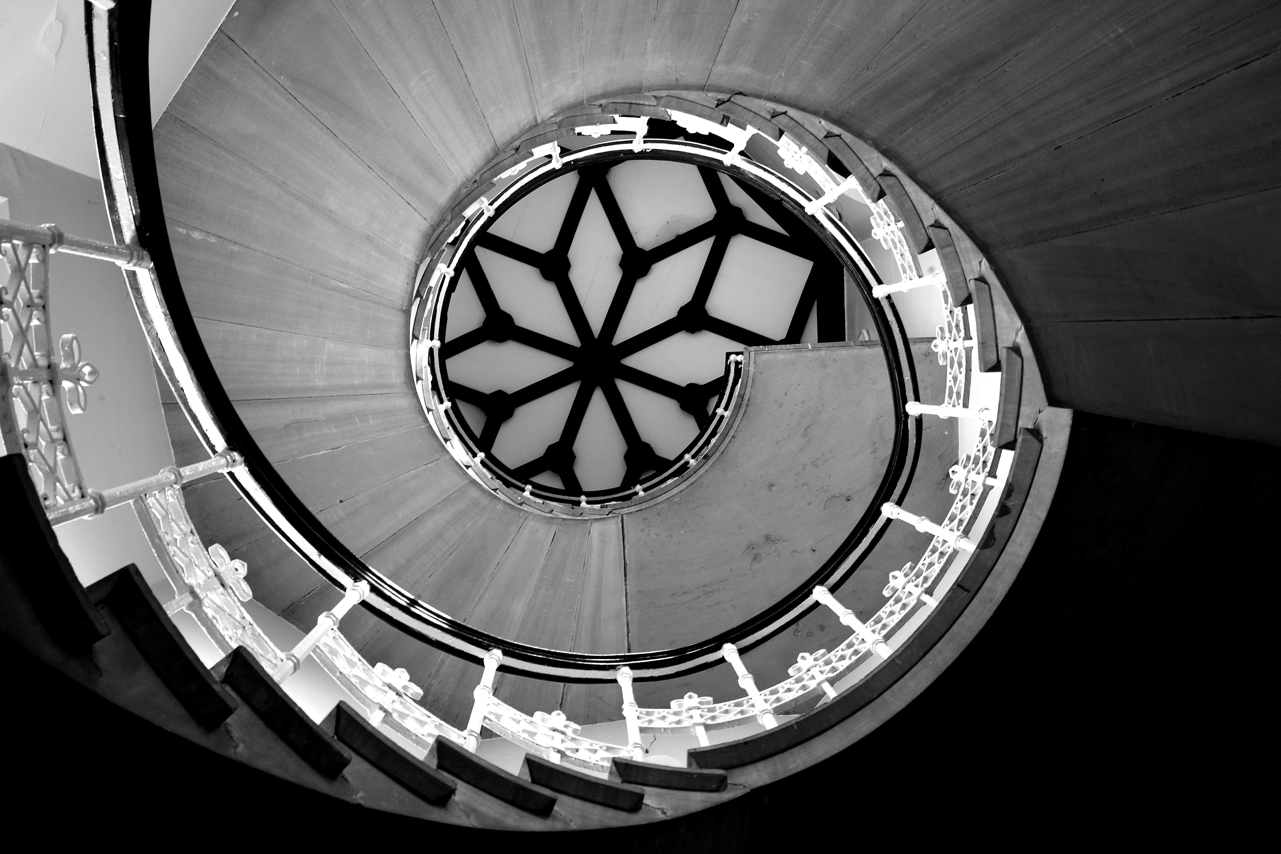 J staircase [photograph taken by Rory O'Bryen]