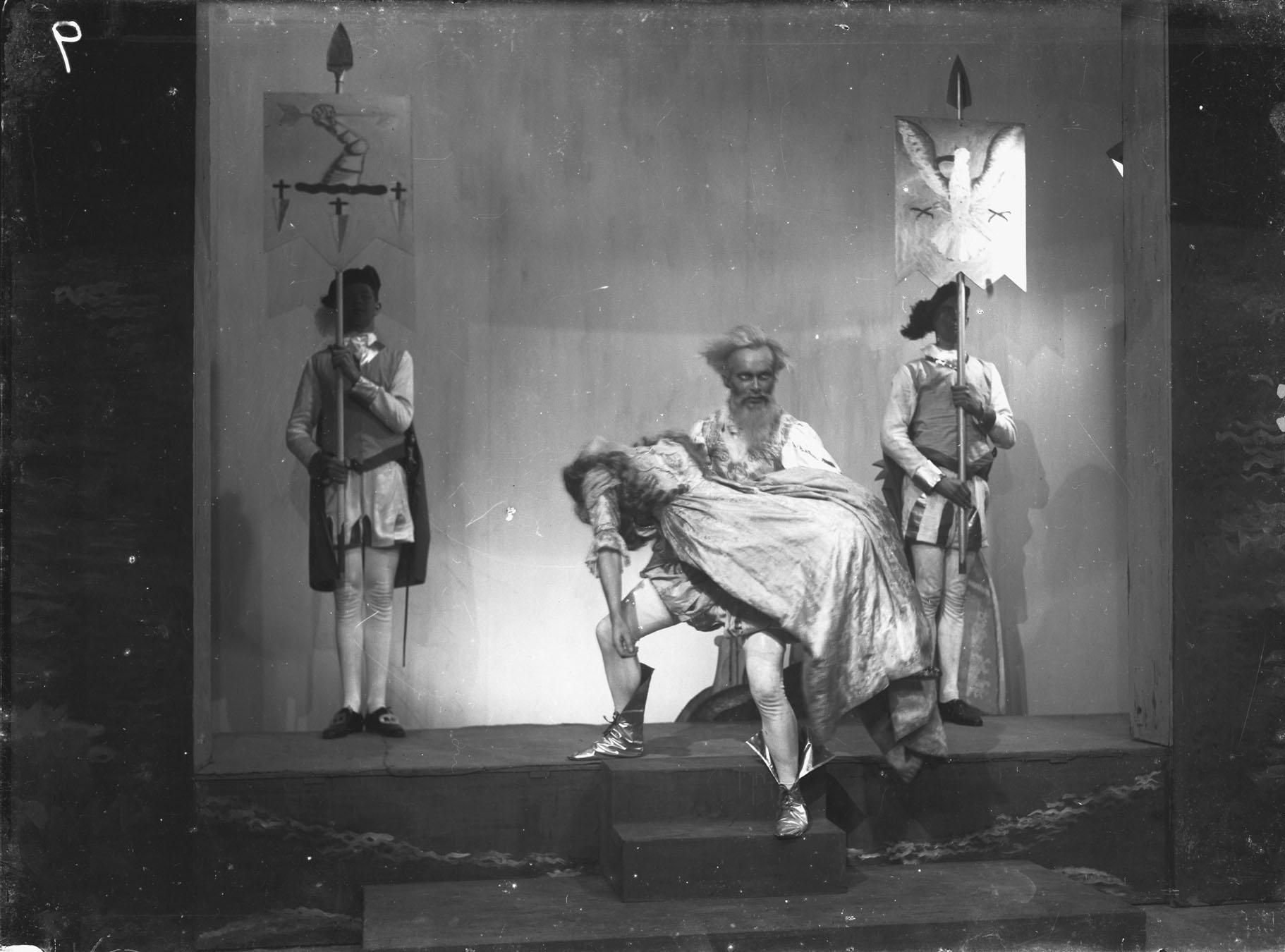 King Lear, 1921 (KCAS/37/1929/1 photograph KL 29)