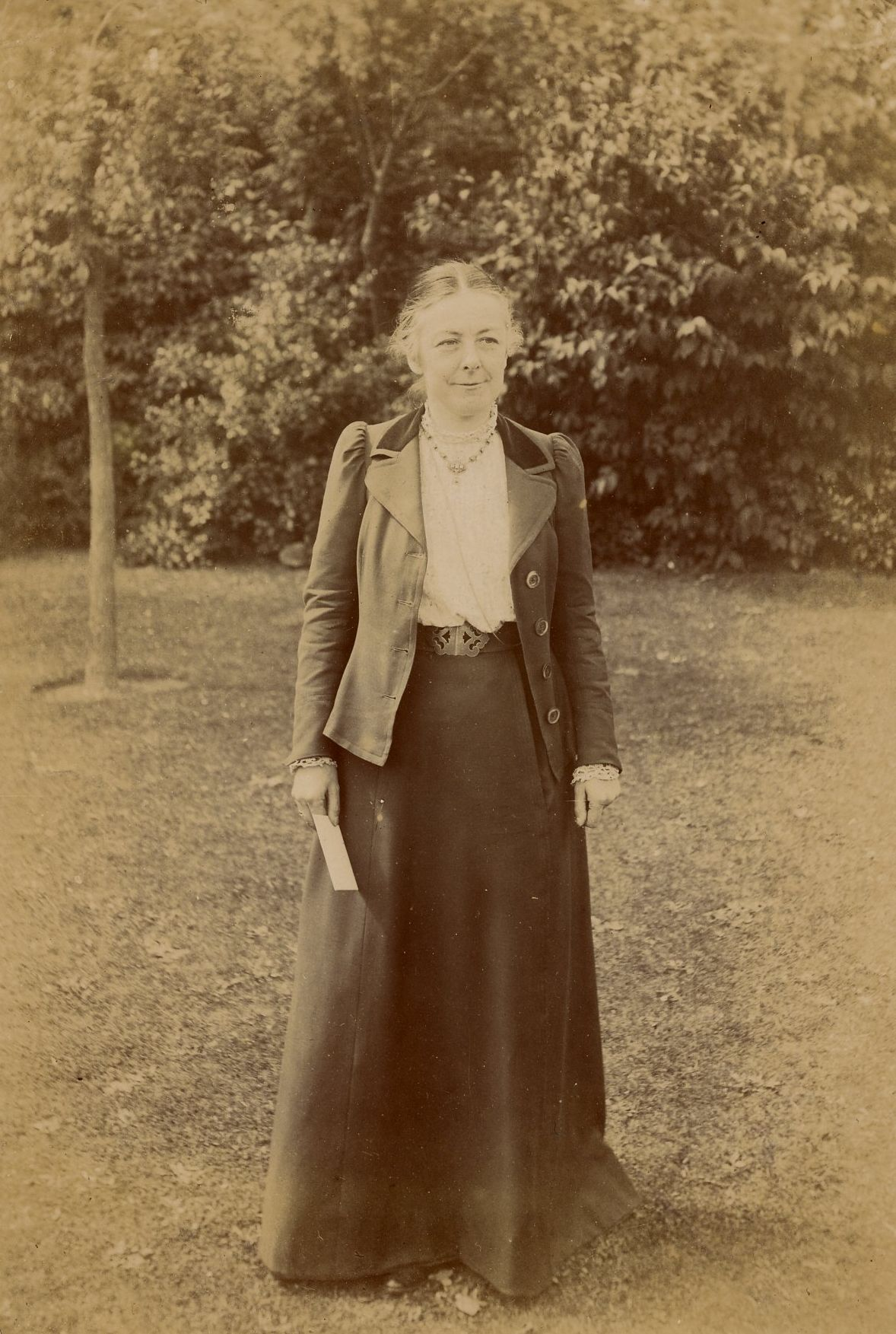 Anne Clough.  [NW/4/1; photographer unknown]
