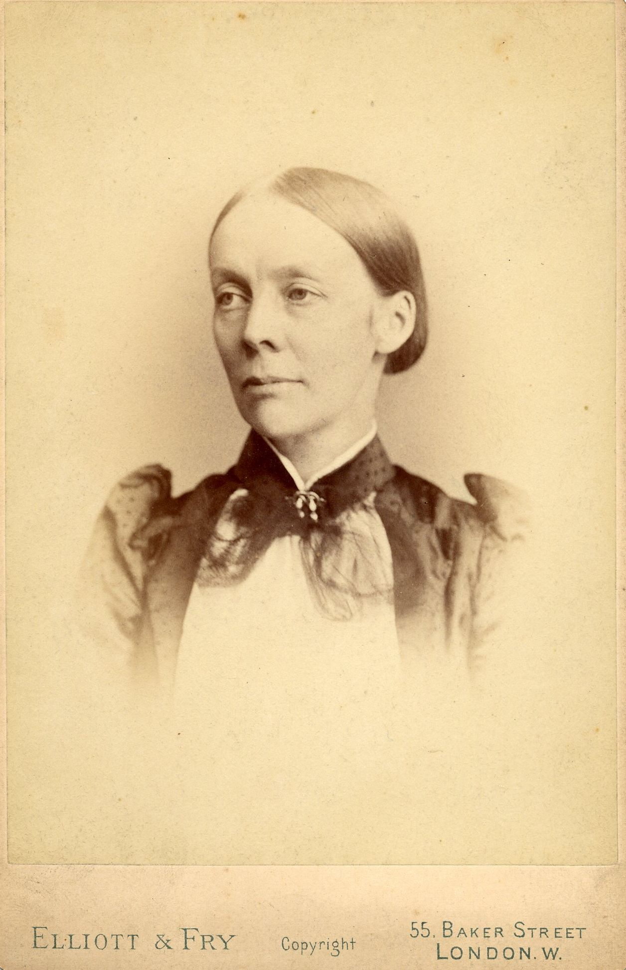Eleanor Mildred Sidgwick.  [NW/4/1]