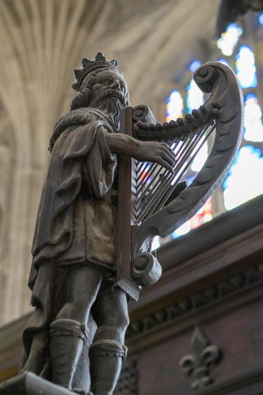 Detail in Chapel