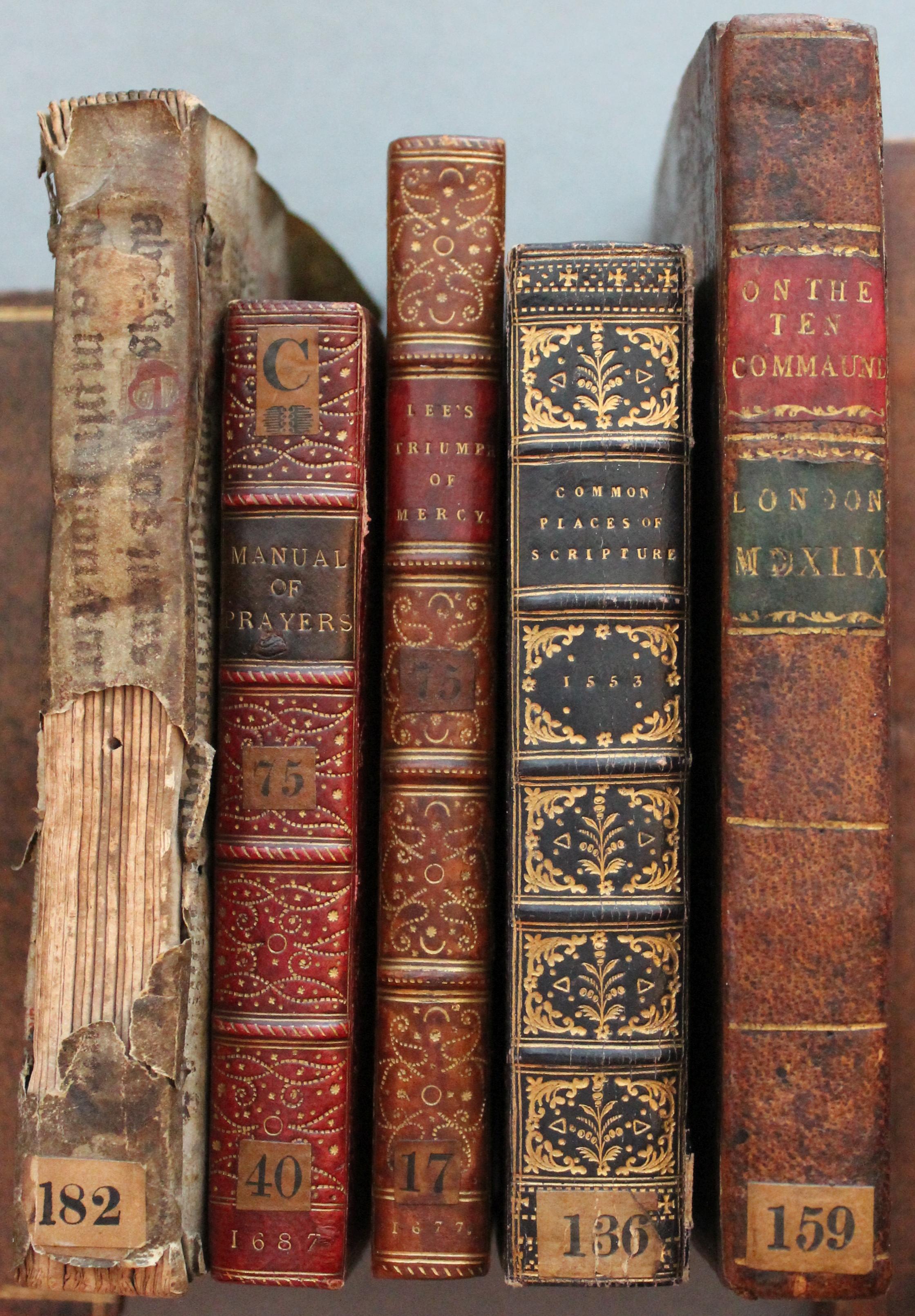 Rare Book spines